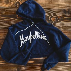 NEW MAYBELLINE CROP TOP SWEATER